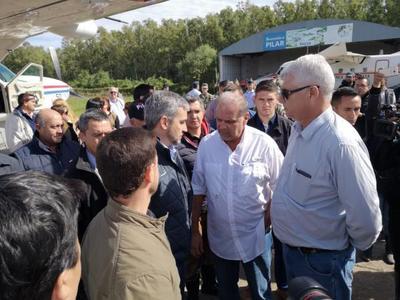Presidente verificará refulado de protección en Pilar