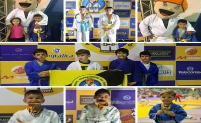 Judokas paraguayos destacan en Brasil