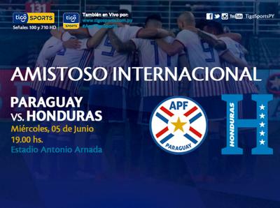 Paraguay se prueba contra Honduras en el Este