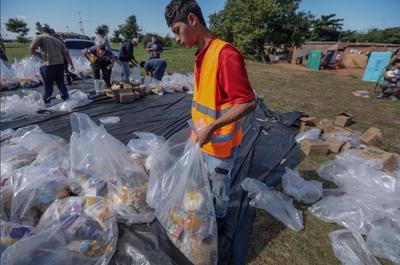 Asistencia alimentaria llega a familias de Ñeembucú, Cordillera y Presidente Hayes