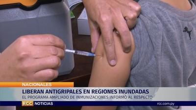 Salud libera antigripales a comunidades inundadas que pasan a considerarse de riesgo