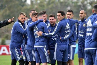 Argentina continúa la puesta a punto
