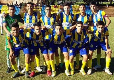 El Deportivo Capiatá alcanzó la cima de la Sub 14