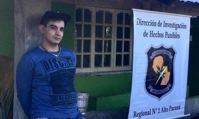 Fiscal imputa a detenido con carga de 155 kilos de marihuana y requiere su prisión