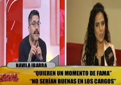 "Navila Ibarra trató de ""resentido"" a Arturito"