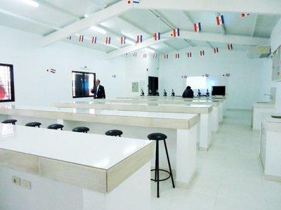 Laboratorio construido con donación japonesa