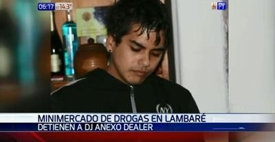 Capturan a Dj que comercializaba drogas en fiestas, según Senad