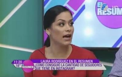 """Fabi Martínez: """"Yo ya no exhibo mi cuerpo"""""""