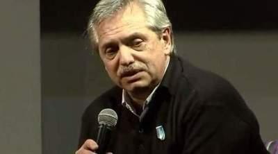 El candidato argentino Alberto Fernández sale de hospital y apunta contra FMI