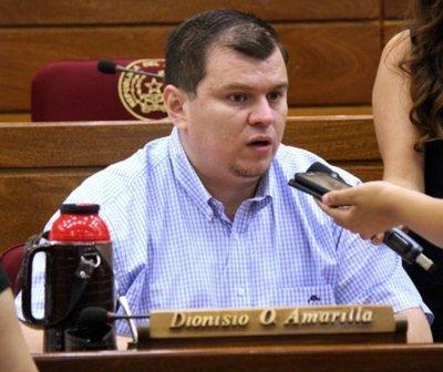 Senado expulsa a Dionisio Amarilla