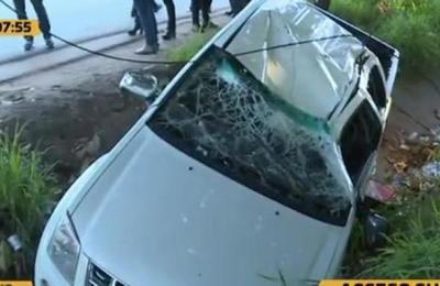 Accidente en Acceso Sur deja a una menor fallecida