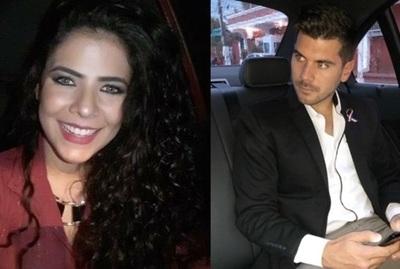 Navila Ibarra y Carlos Viveros se cruzaron en redes