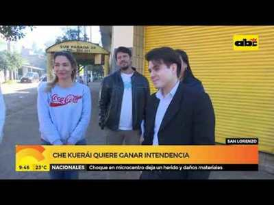 """Che Kuerai"" Quiere ganar intendencia en San Lorenzo"
