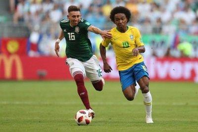 """Willian será el """"10"""" de Brasil"""