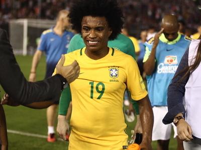 Willian es el reemplazante de Neymar para la Copa América