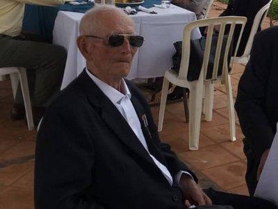 Presidente de los veteranos de la Guerra del Chaco cumple 102 años