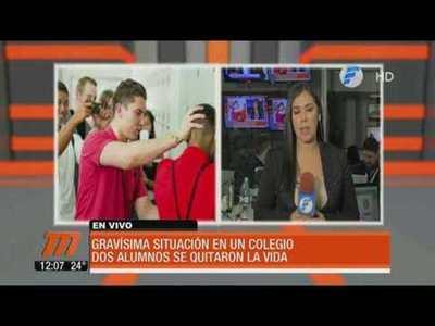 Bullying: Dos alumnos se quitaron la vida