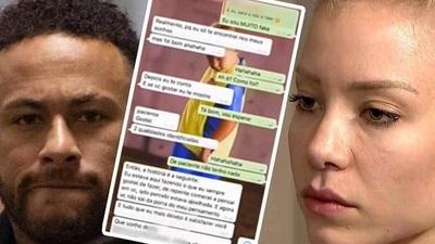 Filtran audio de la conversación entre Neymar y modelo