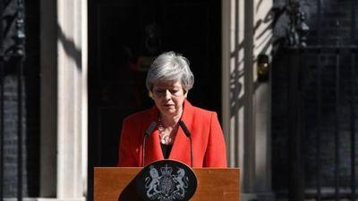 Theresa May dimite como líder del Partido Conservador