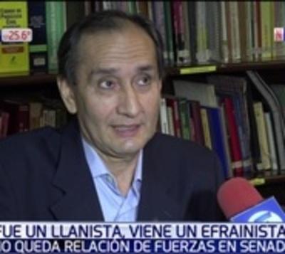 Exsenador, constituyente y abogado; el reemplazante de Amarilla
