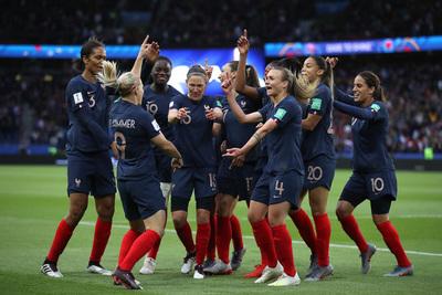 Francia derrotó a Corea del Sur en el Mundial Femenino