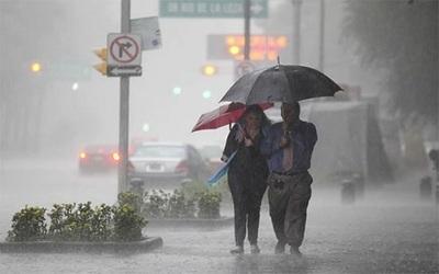 Anuncian lluvias dispersas para este sábado