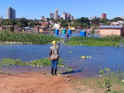 El nivel del río Paraguay sigue disminuyendo en Asunción