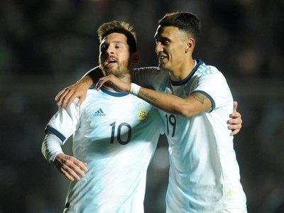 Argentina golea en su despedida rumbo a Copa América