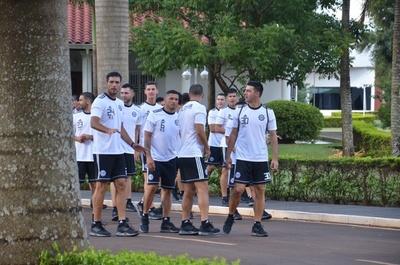 Olimpia entrenará en Minga Guazú