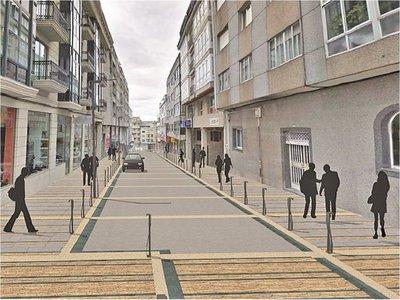 Otro plan para Palma: Nivelar aceras y calzadas para limitar paso vehicular