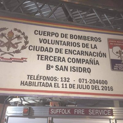 BOMBEROS ENCARNACIÓN INAUGURAN GUARDIAS EN SEDE PROPIA DE LA K3.