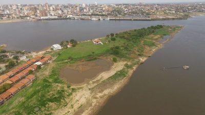 El nivel del río Paraguay presenta un leve descenso en la última semana