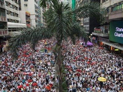 Protesta en Hong Kong contra ley de extradición a China