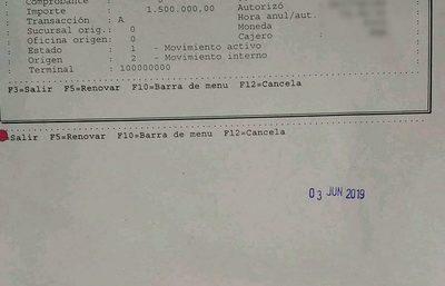 Cajero del BNF se «traga» dinero de usuarios