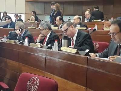 Se preparan para apoyar a Cubas y pedir la expulsión de Javier Zacarías del Senado