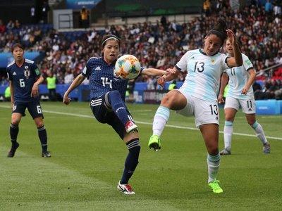 Argentina logra su primer punto en un Mundial