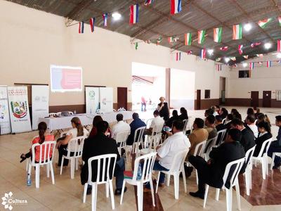 Presentaron el Plan Nacional de Cultura en Canindeyú y Misiones