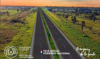 Obras Públicas llama a licitación de tramos 5 y 6 de ruta Transchaco