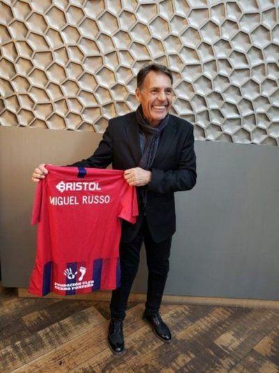 Miguel Russo será presentado en Cerro Porteño este miércoles al mediodía
