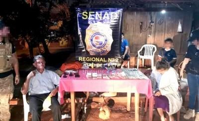 Ancianos microtraficantes detenidos con más de mil dosis