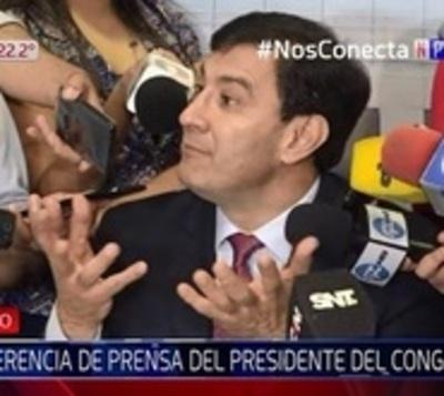 """Recorte de salario a congresistas: """"Un disparate"""", afirma Ovelar"""