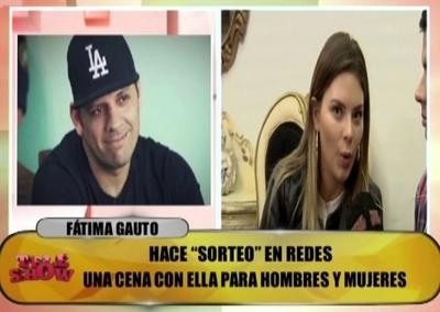 """Fátima Gauto dijo que Cucho le parece """"churro"""" y """"linda persona"""""""