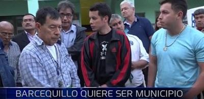 Pobladores de Barcequillo desean independizarse de San Lorenzo