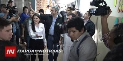 PDTE. MARIO ABDO BENÍTEZ RECORRIÓ BREVEMENTE EL HOSPITAL REGIONAL