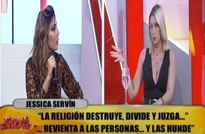 "Carmiña Masi trató de ""farisea"" a Jessi Servin"
