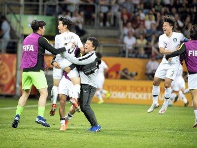 Corea del Sur acaba con el sueño del campeón sudamericano