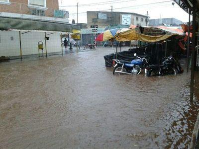 Buscan que gobierno se interese por desagüe pluvial para San Lorenzo
