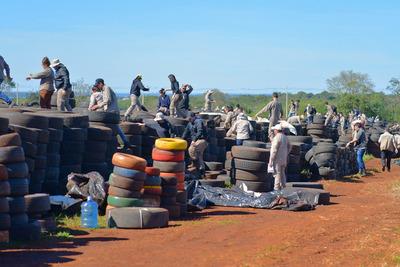 Pará-na los Criaderos: Unas 70 mil cubiertas serán reutilizadas para la producción de asfalto