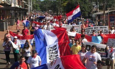 Reviven protestas exigiendo imputación, cárcel y pérdida de investidura para el clan Zacarías