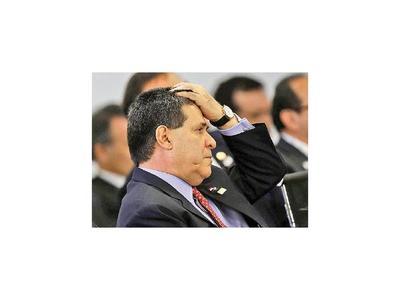 Cartes reconoce que se equivocó buscando  reelección presidencial